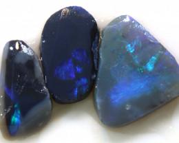8.15cts lightning ridge opal pre shaped rubs ADO-8661