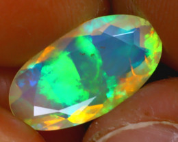 Welo Opal 2.32Ct Natural Ethiopian Play of Color Opal HF2120/A44