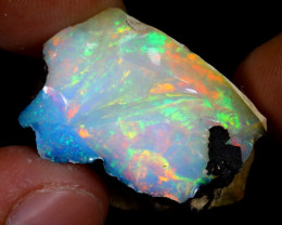 26cts Natural Ethiopian Welo Rough Opal / WR7412