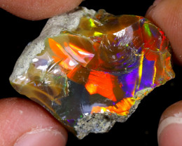 18cts Natural Ethiopian Welo Rough Opal / WR7416
