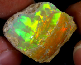 27cts Natural Ethiopian Welo Rough Opal / WR7423