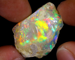 17cts Natural Ethiopian Welo Rough Opal / WR7460