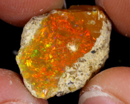 8cts Natural Ethiopian Welo Rough Opal / WR7477