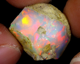 8cts Natural Ethiopian Welo Rough Opal / WR7489
