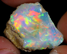 16cts Natural Ethiopian Welo Rough Opal / WR7490