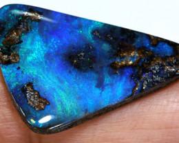 11.05 cts boulder opal polished cut stone  TBO-3258