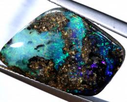 5.55  cts boulder opal polished cut stone  TBO-A3278