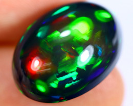 13.84cts Natural Ethiopian Smoked Welo Opal / BF6825