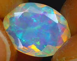 Welo Opal 1.64Ct Natural Ethiopian Play of Color Opal JF2417/A44