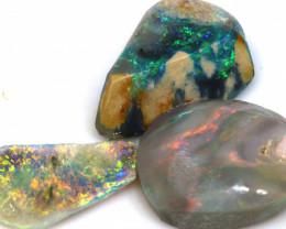 11.40cts lightning ridge opal pre shaped rubs ADO-8685
