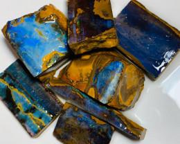 Big Bright Winton Boulder Rough Opals to Cut & Polish