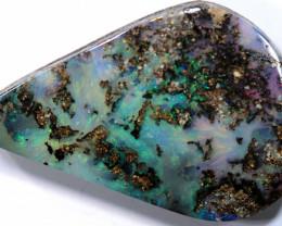 18.40 cts boulder opal polished cut stone  TBO-A3291