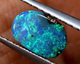 0.75 cts boulder opal polished cut stone  TBO-A3323