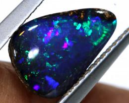 1.60 cts boulder opal polished cut stone  TBO-A3326