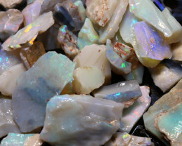 134cts lightning ridge  opal rough parcel  ado-8704