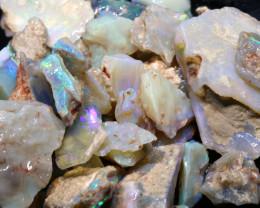 162cts lightning ridge  opal rough parcel  ado-8708