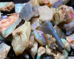 145cts lightning ridge  opal rough parcel  ado-8710