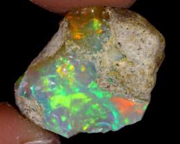 13cts Natural Ethiopian Welo Rough Opal / PA12