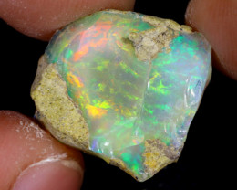 8cts Natural Ethiopian Welo Rough Opal / PA34