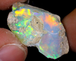 7cts Natural Ethiopian Welo Rough Opal / PA43