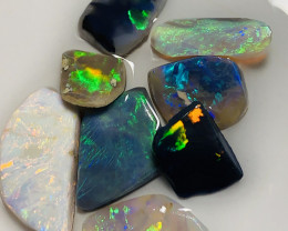 MULTICOLOUR CLEAN BRIGHT OPAL RUBS- 21 CTS#1193