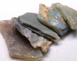 48cts lightning ridge  opal rough parcel  ado-8724