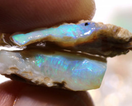 25cts lightning ridge  opal rough parcel  ado-8726