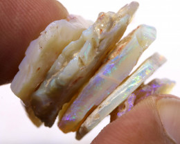 32cts lightning ridge  opal rough parcel  ado-8727