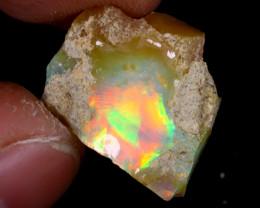 12cts Natural Ethiopian Welo Rough Opal / PA67