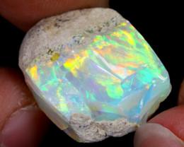 12cts Natural Ethiopian Welo Rough Opal / PA74