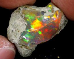 13cts Natural Ethiopian Welo Rough Opal / PA82