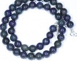 "Sandstone Opal Matrix  (Fairy Opal) 18"" Necklace  Code  NO4121"