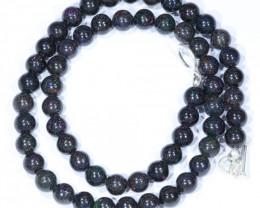 "Sandstone Opal Matrix  (Fairy Opal) 18"" Necklace  Code  NO405"