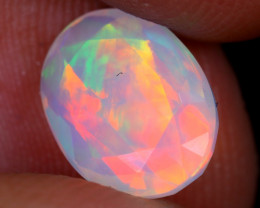 1.64cts Natural Ethiopian Faceted Welo Opal / NY2306