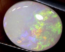 3.50   cts   white opal stone lightning ridge TBO-A3352