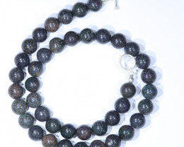 "Sandstone Opal Matrix  (Fairy Opal)  18"" Necklace Code - Code  NO421"