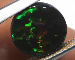 N 1-  1.50   cts   black opal stone lightning ridge TBO-A3363