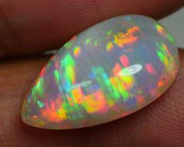 7.895 CRT BEAUTIFUL MULTI PLAY COLOR WELO OPAL CRACKED-