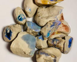 Big Rough Nobby Opals Showing Bars & Colours to Gamble and Go Thru