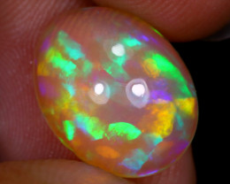 3.68cts Natural Ethiopian Welo Opal / UX14