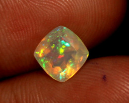 1.5 Crt Natural Ethiopian Welo Fire Faceted Opal 501