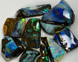 Winton Gems- Bright Select Stunning Rough Boulder Opals#1251