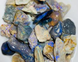 Bright & Colourful Rough Nobby Opals to Gamble & Go Thru