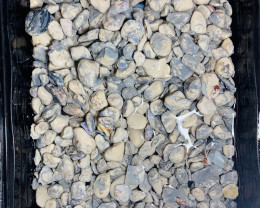 5000 CTs (1 kg) Rough Black Nobby- Potch & Colour, see below#1272