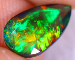 1.20cts Natural Ethiopian Welo Faceted Smoked Opal / NY2395