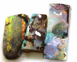 18.90cts boulder opal pre-shaped rub parcel ado-8772