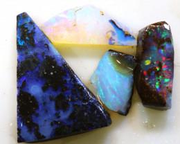 15.30cts boulder opal pre-shaped rub parcel ado-8780