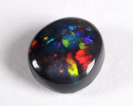 Lightning Ridge Australia - Solid Black Opal - 0.53 cts