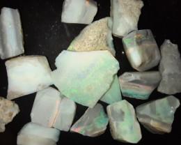 72 Cts Mintabie Opal Parcel