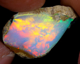 13cts Natural Ethiopian Welo Rough Opal / WR7643